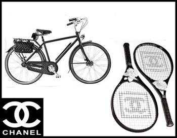 Racchette da tennis Chanel