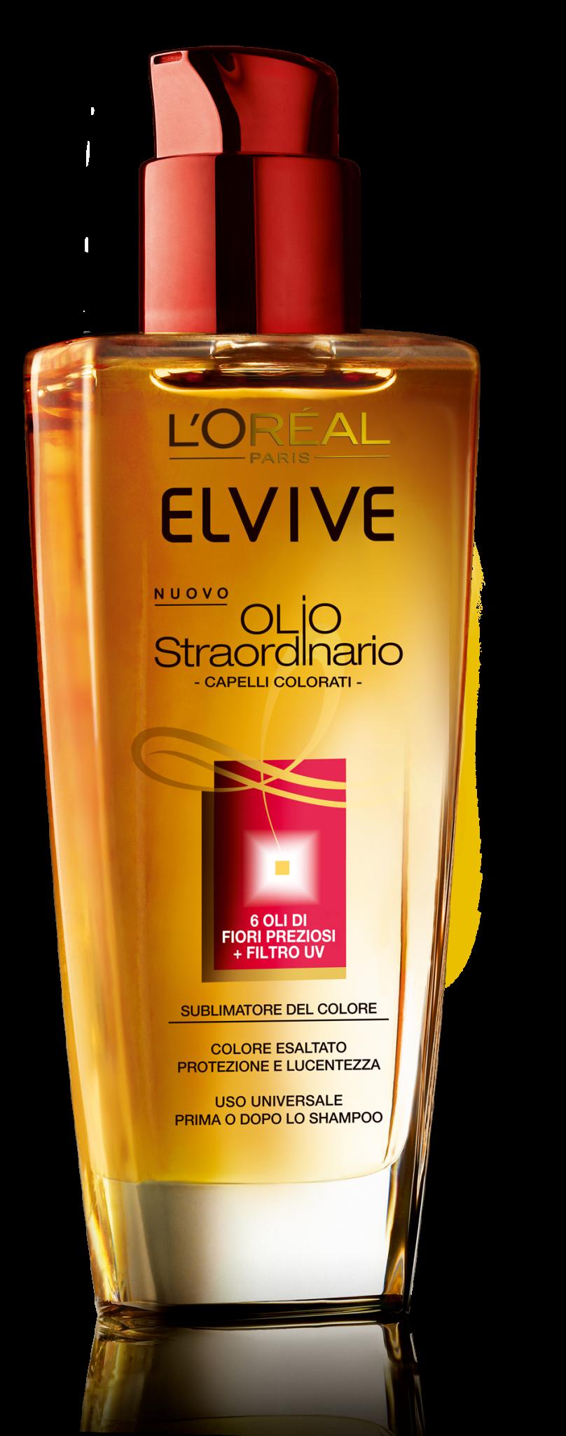 Elvive presenta il nuovo Olio Straordinario
