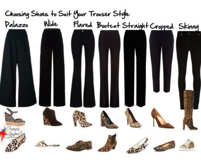 Pantaloni e scarpe da donna: come abbinarli