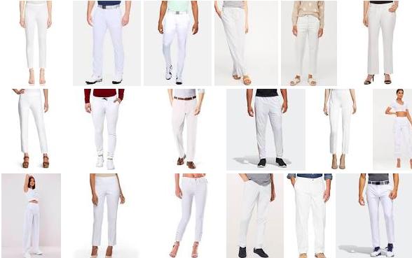 Pantaloni bianchi: gli abbinamenti e le scarpe più adatte
