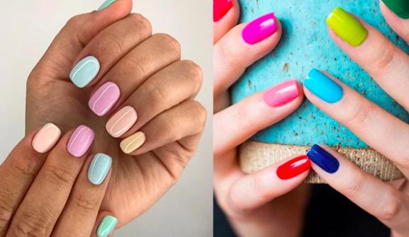 Unghie mismatched: la manicure multicolor che fa tendenza