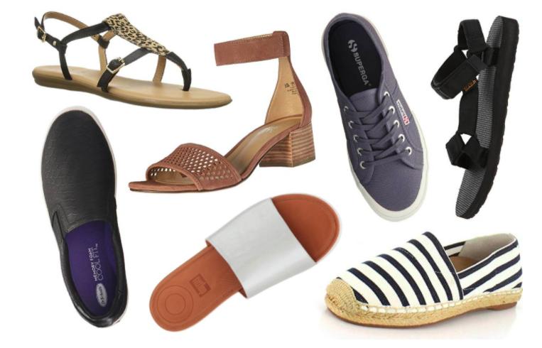 Come abbinare scarpe e abbigliamento in estate